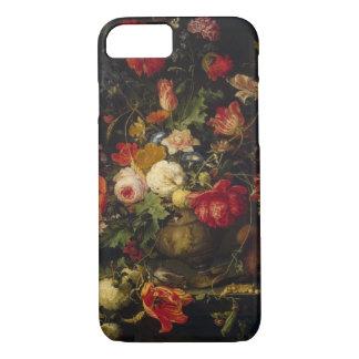 Florero floral del vintage elegante funda iPhone 7