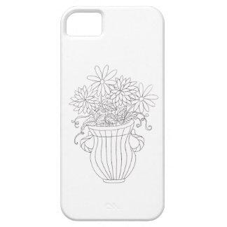Florero floral iPhone 5 Case-Mate carcasa