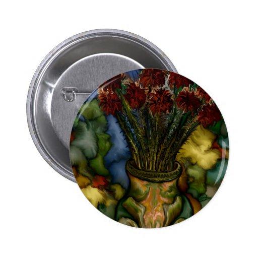 Florero por el rafi talby pin redondo 5 cm