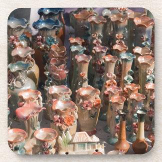 Floreros adornados múltiples posavaso