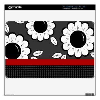"""Flores 11"""" piel de Zazzle del aire de MacBook (11, Skins Para MacBook Air"""