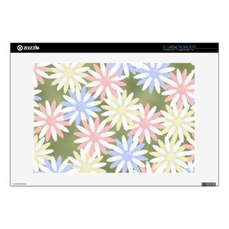 """Flores 13"""" piel del ordenador portátil para el mac calcomanía para portátil"""