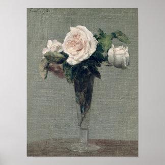 Flores, 1872 póster