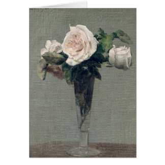 Flores, 1872 tarjeta de felicitación