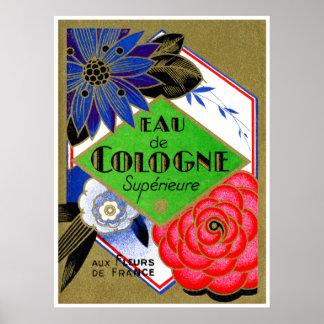 Flores 1925 de Superieure del perfume de Francia Impresiones