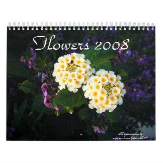 Flores 2008 calendarios