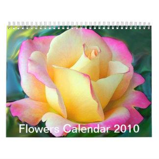 Flores 2010 calendarios de pared