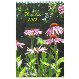 Flores 2012 calendario