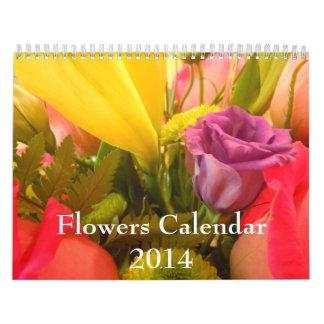 Flores 2014 calendario