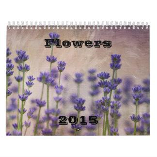 Flores 2015 calendario
