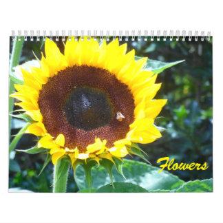 Flores 2017 calendario