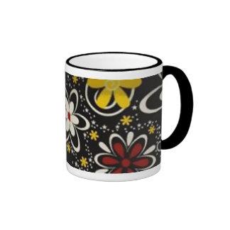 Flores 2 ringer coffee mug