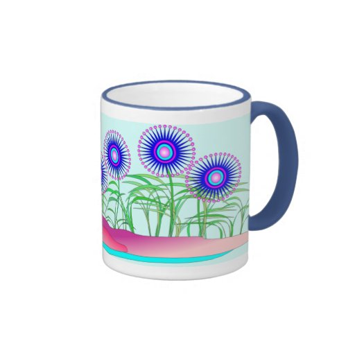 Flores 2 tazas