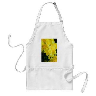 Flores 415 del amarillo delantales