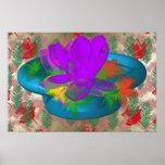 flores abstractas 3D Impresiones