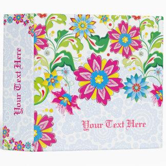 """Flores abstractas coloridas carpeta 2"""""""