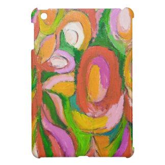 Flores abstractas de la lágrima (expresionismo abs iPad mini cárcasa