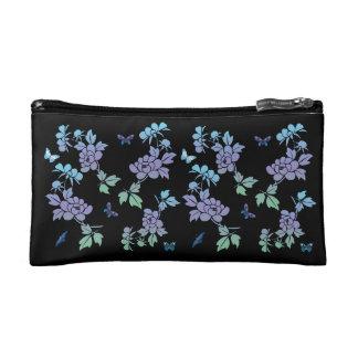 Flores abstractas del vector con los butterflys