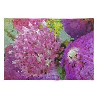 Flores abstractas hermosas manteles