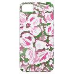 Flores abstractos del Dogwood de Zazzle iPhone 5 Case-Mate Cobertura