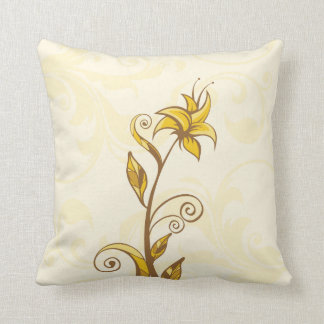 Flores amarillas almohada