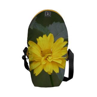 Flores amarillas bolsas messenger