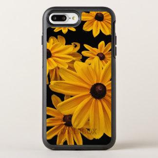 Flores amarillas del jardín funda OtterBox symmetry para iPhone 7 plus