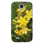 Flores amarillas florecientes