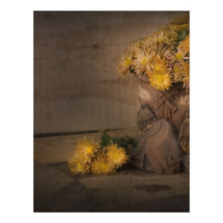flores amarillas tarjetones