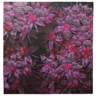 flores asombrosas del rosa (i) servilleta