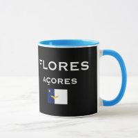 Flores Azores Map Coffee Mug
