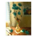 Flores azules arte fotografico