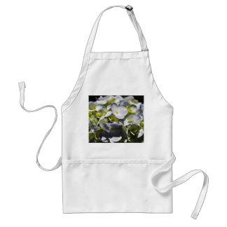 Flores azules de los Hydrangeas Delantal