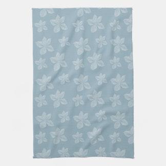 Flores azules del Clematis Toallas