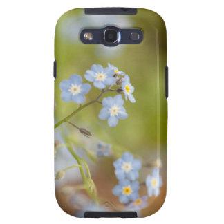 Flores azules dulces galaxy s3 cobertura