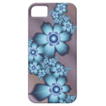 Flores azules iPhone 5 Case-Mate protectores
