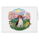 Flores - beagle 4 tarjetón