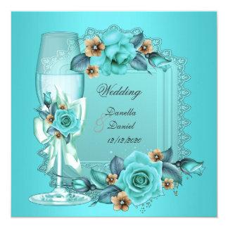 Flores beige azules de los rosas del trullo comunicados personales