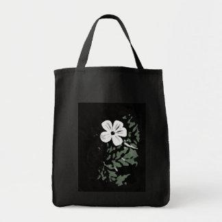 Flores blancas bolsa