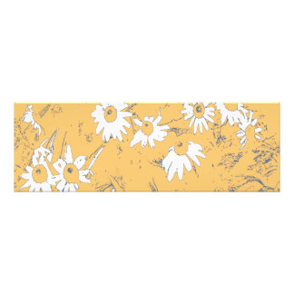 Flores blancas del cono con el fondo anaranjado fotografías