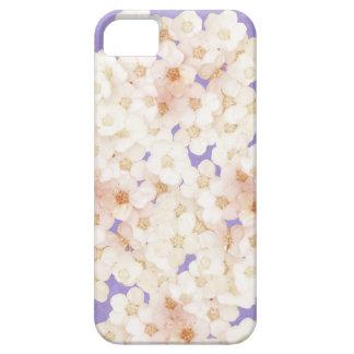 flores blancas delicadas funda para iPhone SE/5/5s