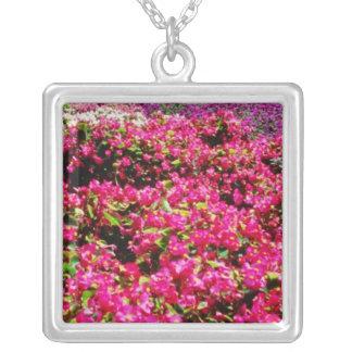 Flores blancas, flores cuadradas de Wencelas Joyeria