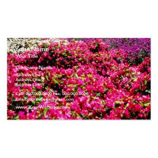 Flores blancas, flores cuadradas de Wencelas Plantillas De Tarjetas De Visita