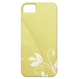 flores blancas funda para iPhone SE/5/5s