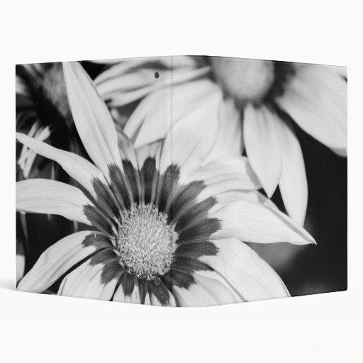 """Flores blancos y negros carpeta 1"""""""
