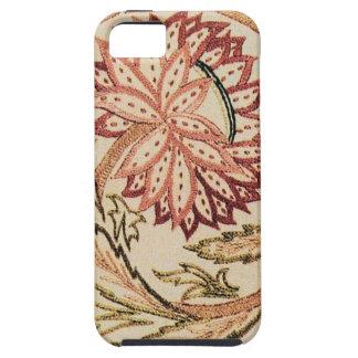 Flores bohemias rosadas iPhone 5 carcasas