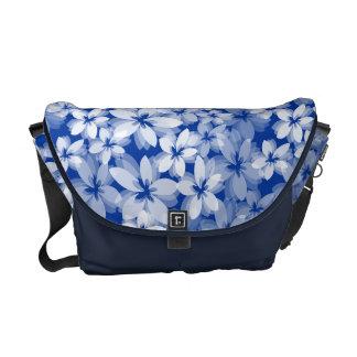 Flores bonitas bolsas de mensajeria