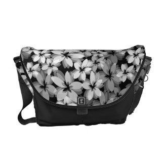 Flores bonitas bolsas messenger