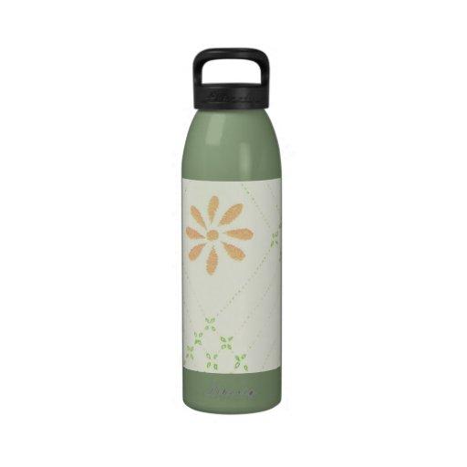 Flores bonitas de la margarita botellas de beber