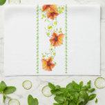 Flores bonitas del albaricoque toallas